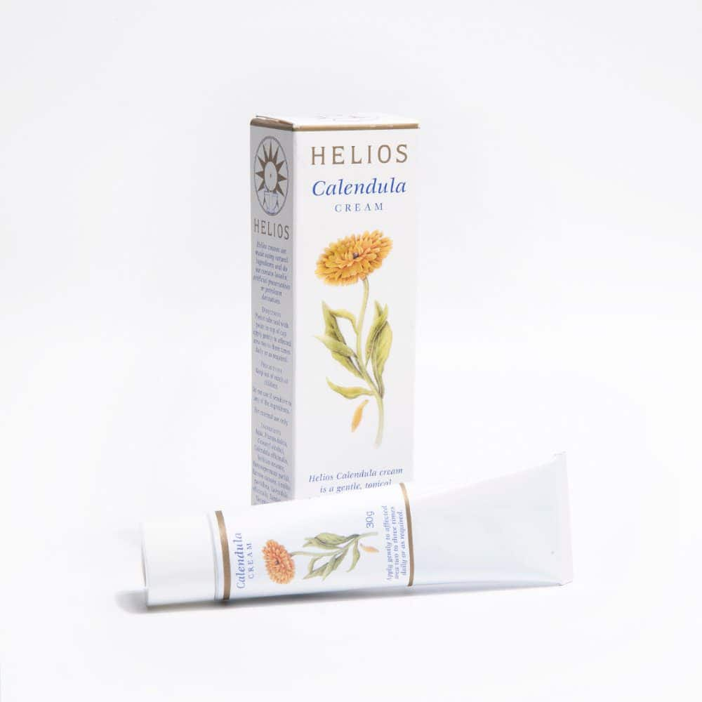 Helios Calendula Cream: for dry skin, diaper (nappy) rash, cuts and grazes