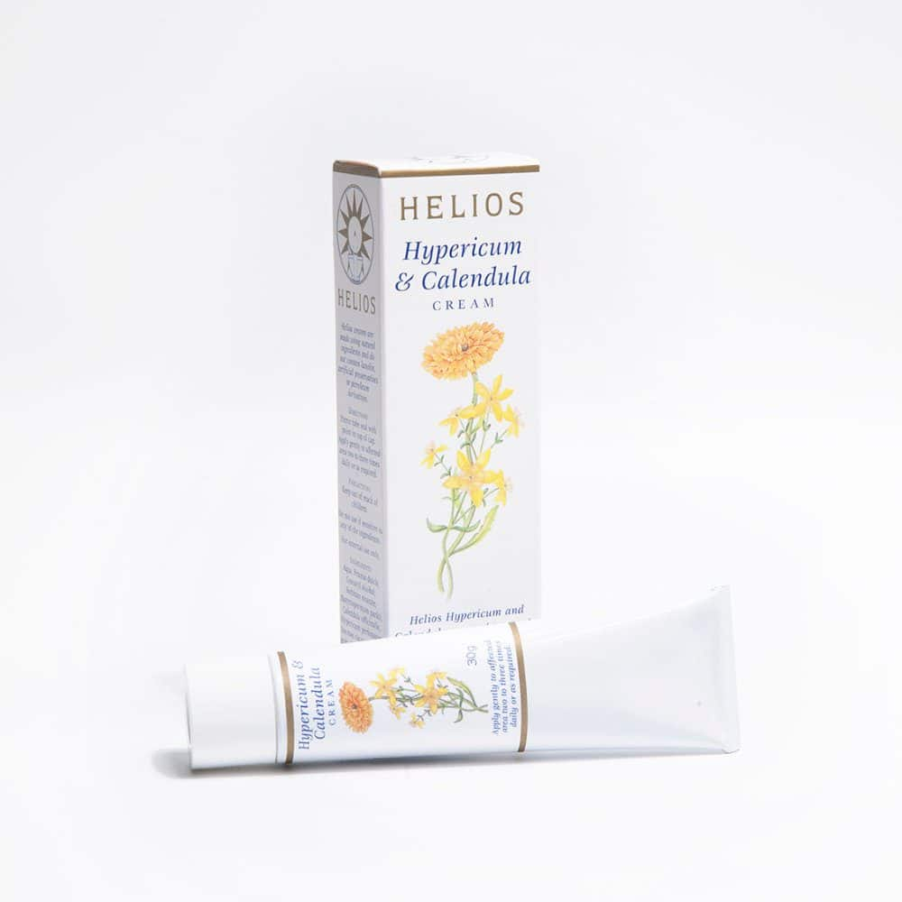 Helios Hypericum Calendula Cream: homeopathic helps resolve cuts, stings and bites