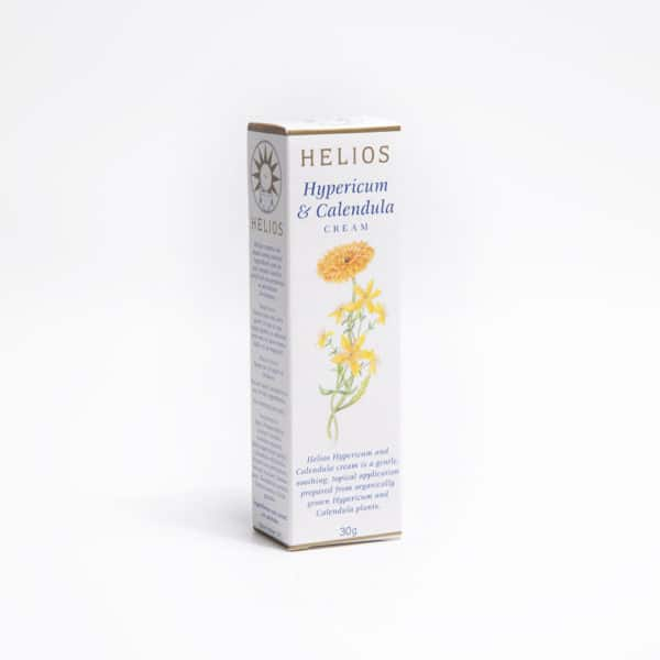 Helios Hypericum Calendula Cream: helps resolve cuts, stings and bites