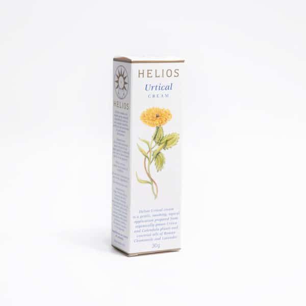 Helios Urtical Cream: for minor rashes, itches and burns